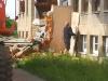 Abbrucharbeiten der alten Haupteingangstreppe