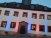 "Projekt ""LED-Farbenspiel"" am Rathaus Meerane"