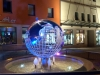 "Projekt ""LED-Farbenspiel"" am Marktbrunnen Meerane"