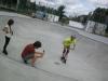 Skater auf der Anlage in Meerane