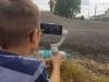 Videodreh auf der Skateranlage Meerane mit dem gimbal