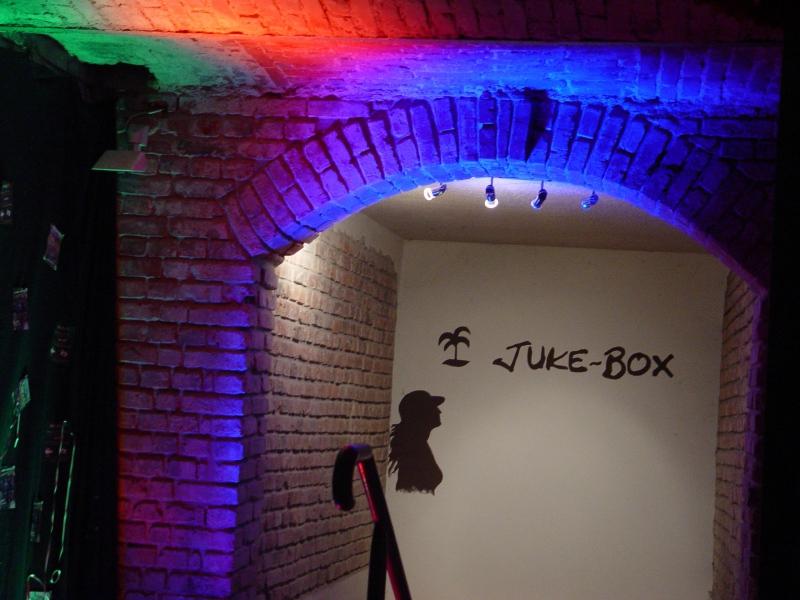 JUKE-BOX-Eingangsbereich