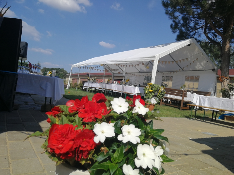 4 x 10 m Pavillon