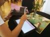 Erste Versuche am Tablet analog vs. digital
