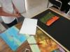 Vorbereitungen der Ausstellung