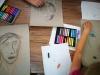 Portraitmalerei mit Pastellkreide