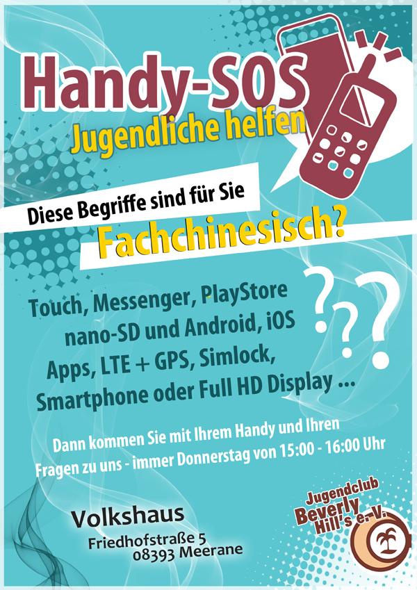 Handy-sos in Jung hilft Alt
