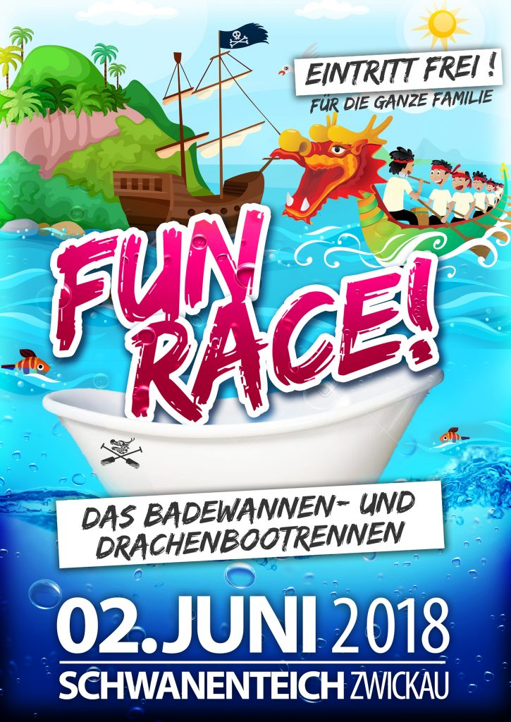FUN-Race-VS-2-725x1024 in Drachenbootrennen 2018, Schwanenteich Zwickau