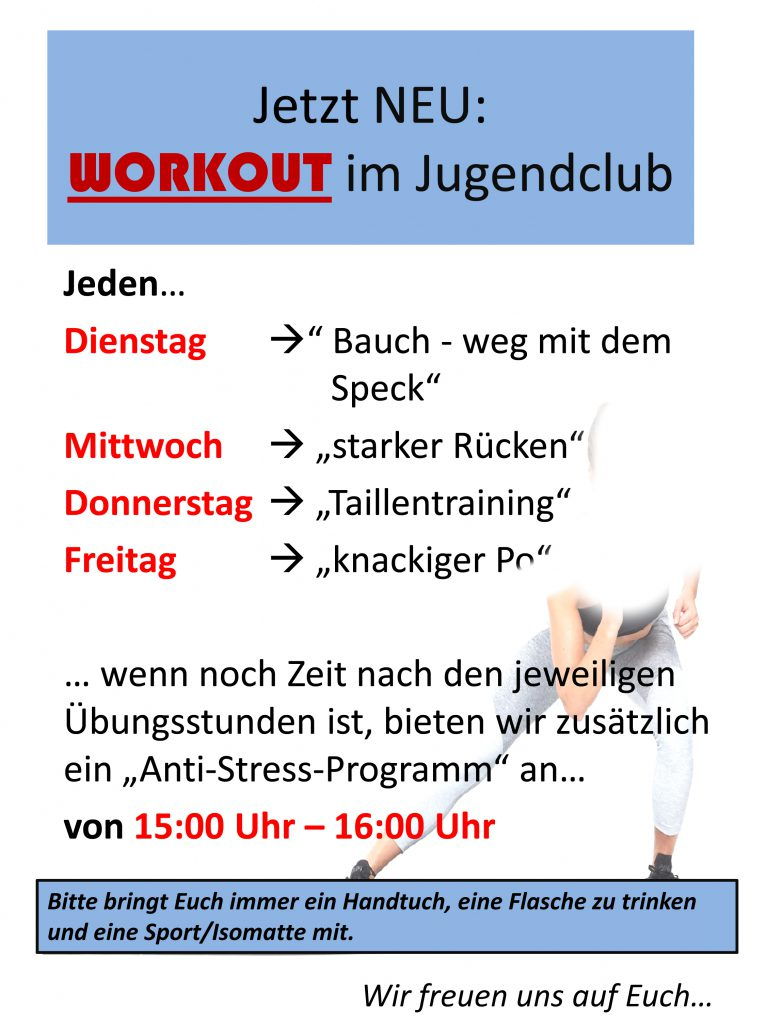 Workout-jugendclub-1-766x1024 in Bleib fit - Workout im Club