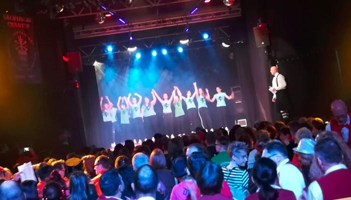 Beverly Dance beim Vereinsfasching der sächsischen Chaoten im EKM Meerane