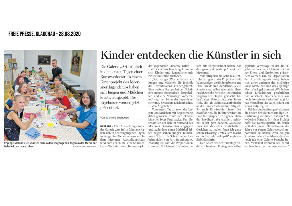 Artikel-sommerkunst-werkstatt-aug-2020-Kopie-1024x724 in Sommerkunst-Werkstatt 2020 - Presse