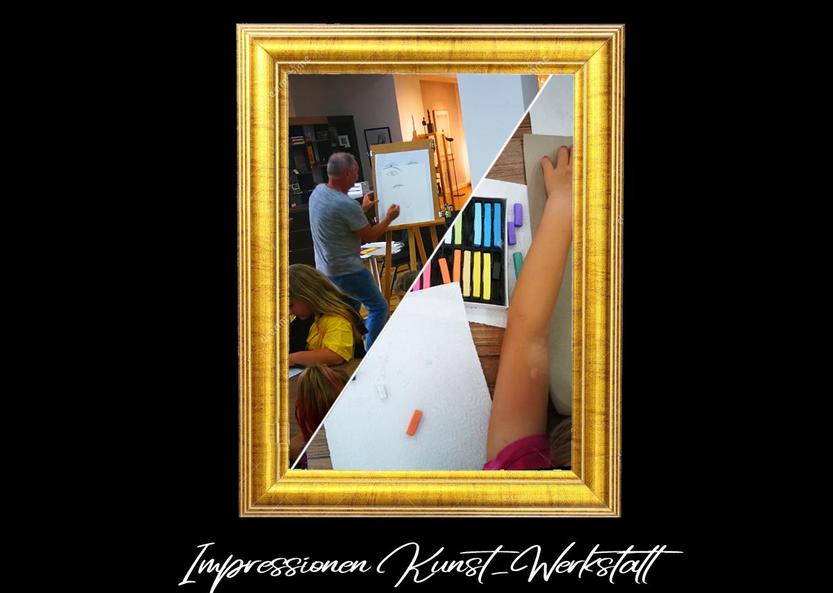 Impressionen in Digitale Ausstellung - Sommer-Kunst-Werkstatt 2020 Meerane
