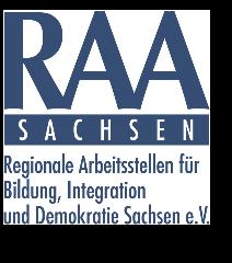 Logo-raa-sachsen in Schulsozialarbeit: PEERLEADERS leben Beteiligung